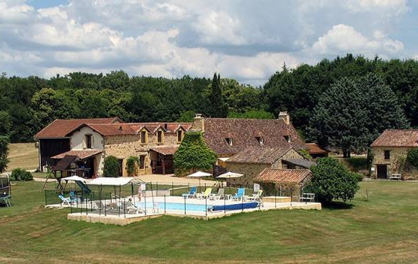 Location de vacances - Gîte à Bouillac - Une vue de la propriété