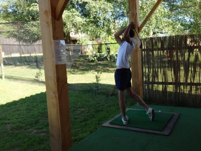 Location de vacances - Gîte à Bouillac - Venez essayer le golf