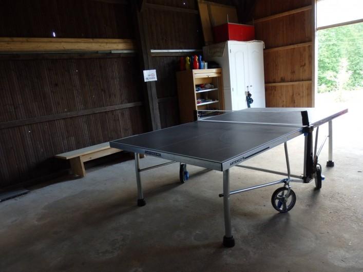 Location de vacances - Gîte à Bouillac - ping-pong