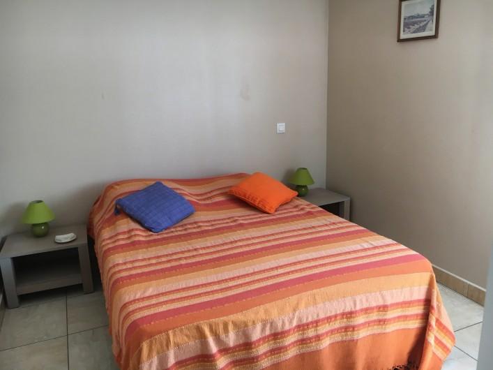 Location de vacances - Appartement à Valras-Plage - chambre lit 140