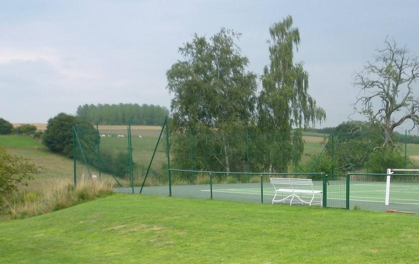 Location de vacances - Maison - Villa à Falaen - tennis privé