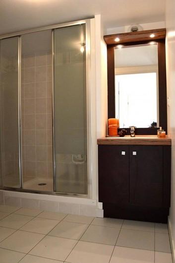 Location de vacances - Appartement à Banyuls-sur-Mer - Eléments de la salle de douche