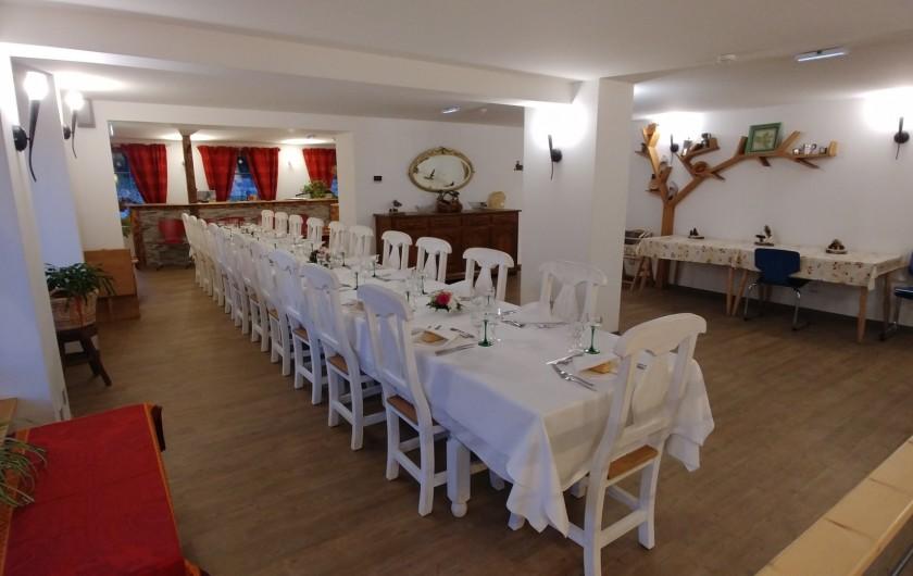 Location de vacances - Chalet à Gérardmer - Grand salon