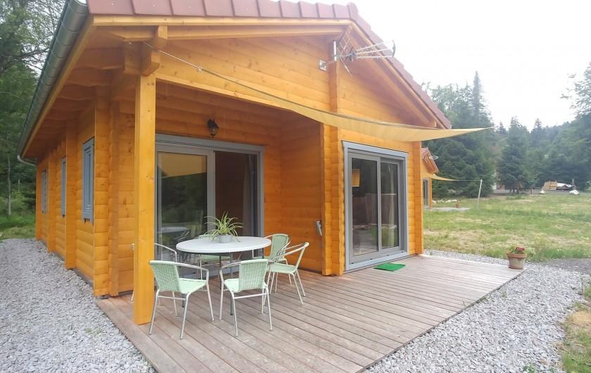 Location de vacances - Chalet à Gérardmer - CHALET 1 et 2
