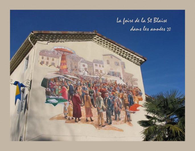 Location de vacances - Gîte à Meyras - La foire de la Saint-Blaise