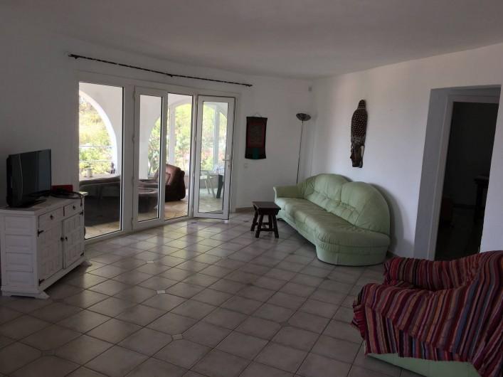 Location de vacances - Villa à Sant Antoni de Portmany - the Living-Room