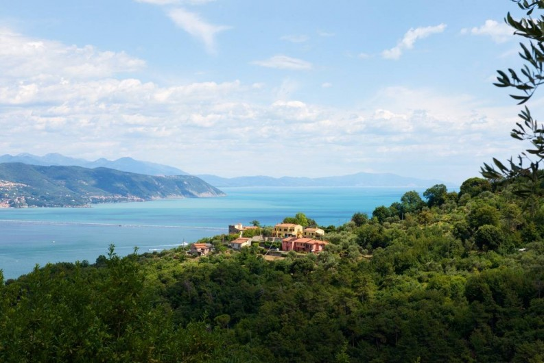 "Location de vacances - Villa à La Spezia - La vue sur le ""Golfo dei Poeti"""