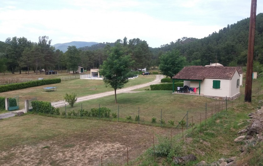 Location de vacances - Gîte à Gagnières - Vue d'ensemble du domaine