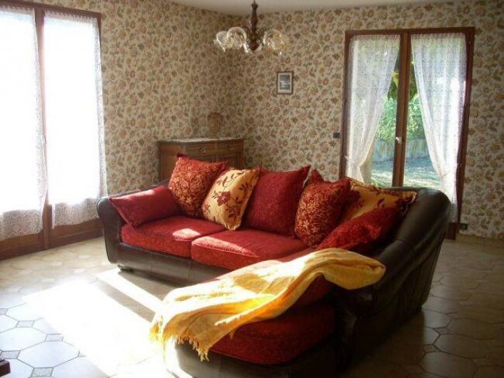 Location de vacances - Villa à Saint-Cyprien Plage - Séjour