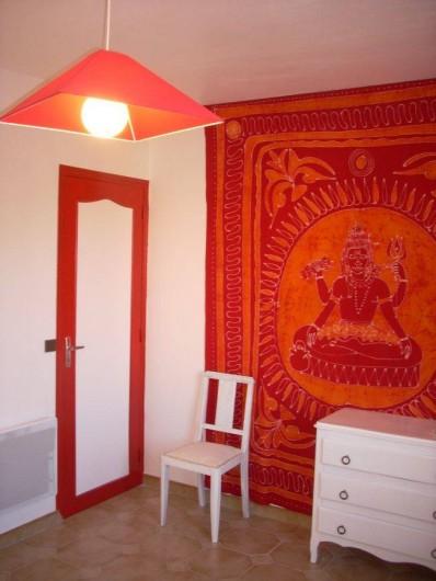 Location de vacances - Villa à Saint-Cyprien Plage - Chambre 2 1 lit en 140