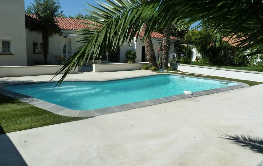 Location de vacances - Appartement à Montescot - la piscine 4,5 X 8