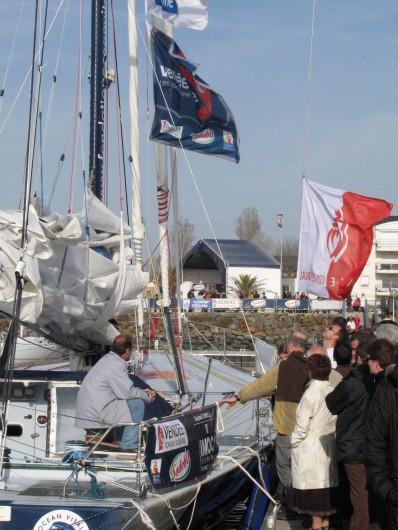 Location de vacances - Gîte à Les Clouzeaux - Activités nautiques - Départ et arrivée du Vendée Globe à la voile