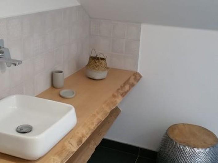 Location de vacances - Gîte à Raon-lès-Leau - Salle d'eau Chambre 2