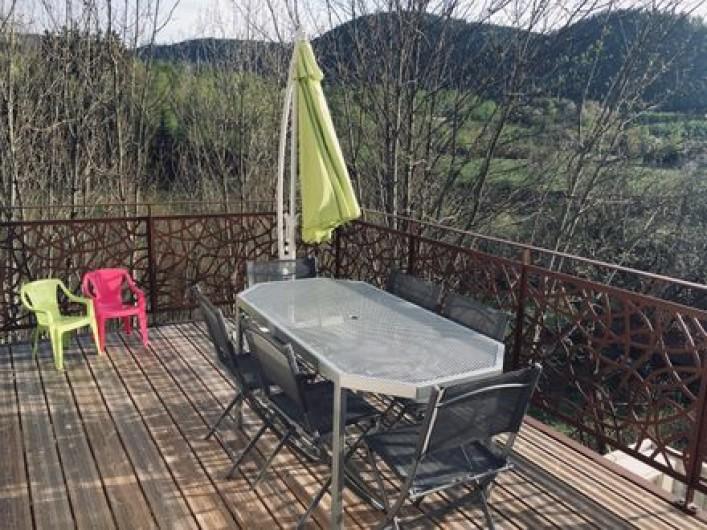 Location de vacances - Gîte à Raon-lès-Leau - Terrasse