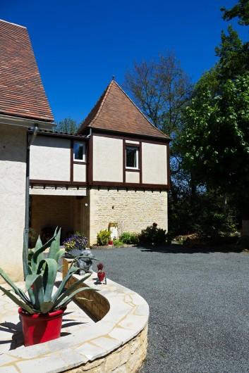 Location de vacances - Maison - Villa à Sarlat-la-Canéda - Salle de bain Chambre Écureuil