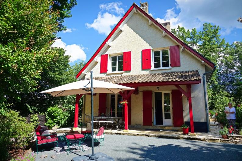 Location de vacances - Maison - Villa à Sarlat-la-Canéda - Extérieurs