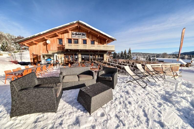 Location de vacances - Chambre d'hôtes à La Féclaz - Au pied des pistes l'hiver