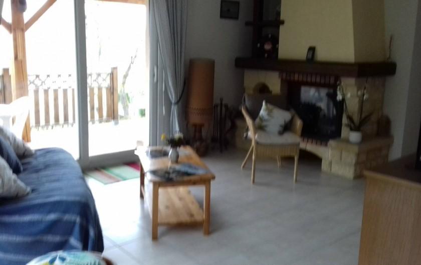 Location de vacances - Gîte à Le Bougayrou - Salon