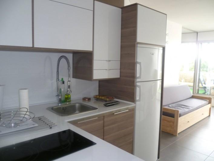 Location de vacances - Appartement à Le Grau-du-Roi - cuisine