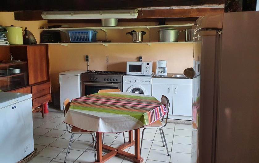 Location de vacances - Gîte à Saint-Gouéno - Arrière cuisine Back kitchen