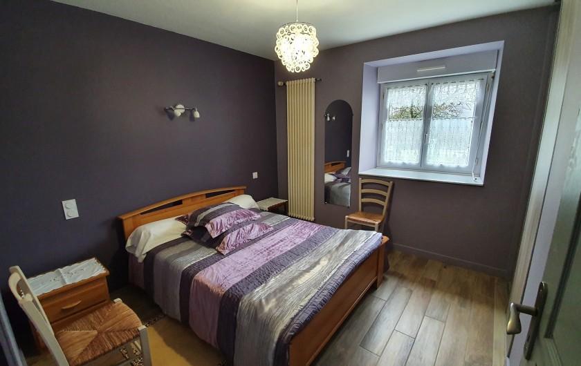 Location de vacances - Gîte à Saint-Gouéno - Chambre n°1 au rez-de-chaussée Bedroom N°1 downstairs