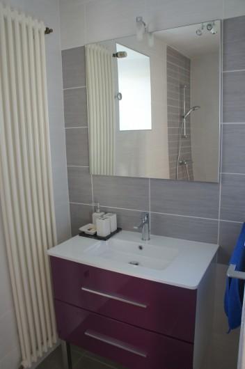 Location de vacances - Gîte à Saint-Gouéno - Douche rez-de'chaussée Shower downstairs